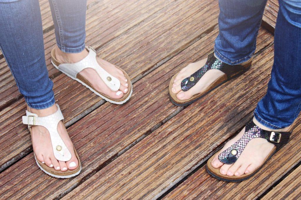 On opte pour les bonnes chaussures
