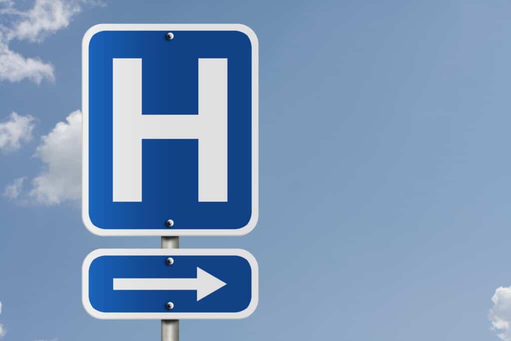 Se rendre au centre hospitalier en taxi conventionné