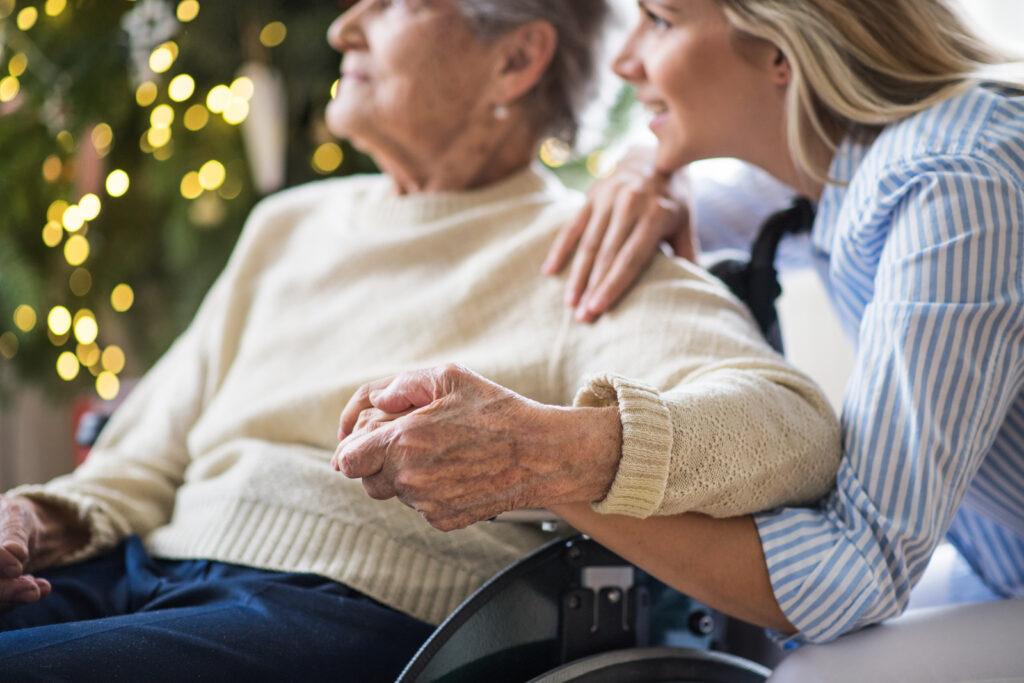 Comment prendre soin d'une personne âgée ?